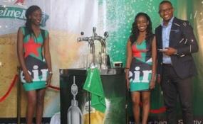 Heineken beer in Kenya